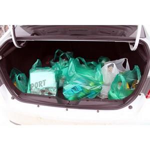 127 продуктовых наборов из «тележек добра» переданы жителям Мордовии