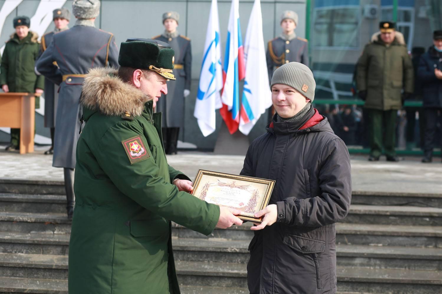 """День защитника Отечества на """"МЗИК"""""""