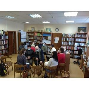 Семинар в Тверской библиотеке для слепых