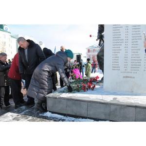 ОНФ в Мордовии почтил память погибших воинов-интернационалистов