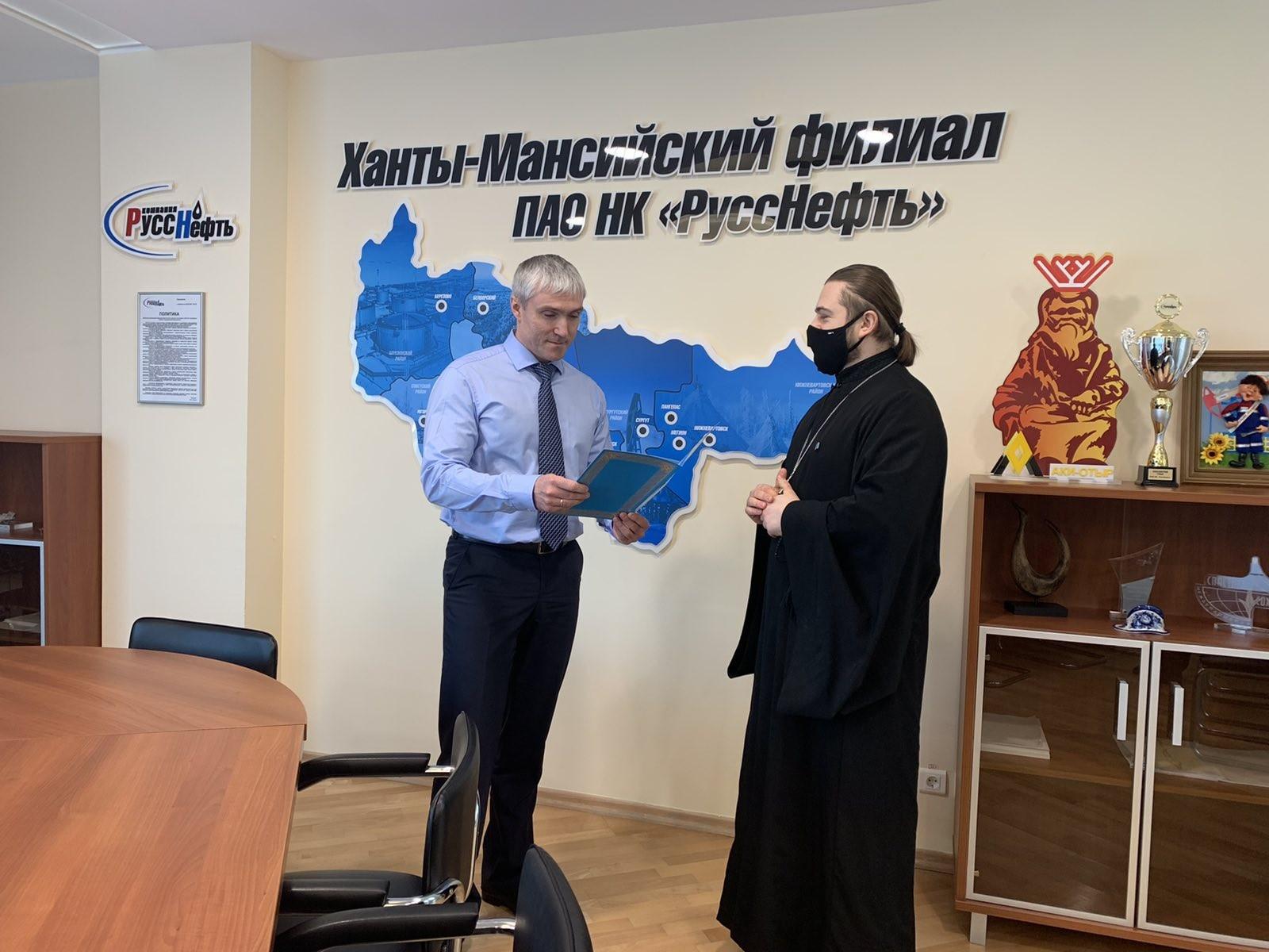 ХМФ  оказал помощь при строительстве храма Вознесения Господня