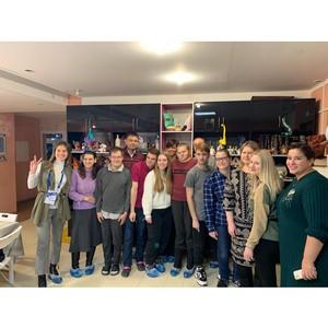 Финалисты конкурса «Лидеры России» посетили «Дом слепоглухих» Пучково