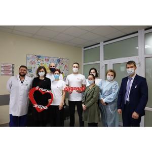 Кировские активисты ОНФ внесли свой вклад в борьбу с раком крови