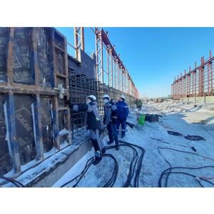 На Челябинском цинковом заводе продолжают строить склад концентратов