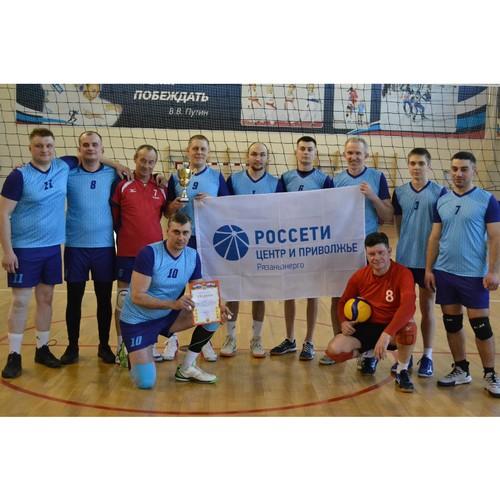 Волейбольная команда Шацкого РЭС победила на областных соревнованиях