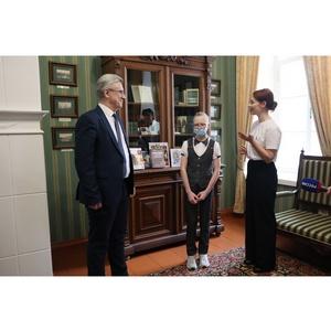 Школьница из Адышево попросила у Президента РФ книгу по истории
