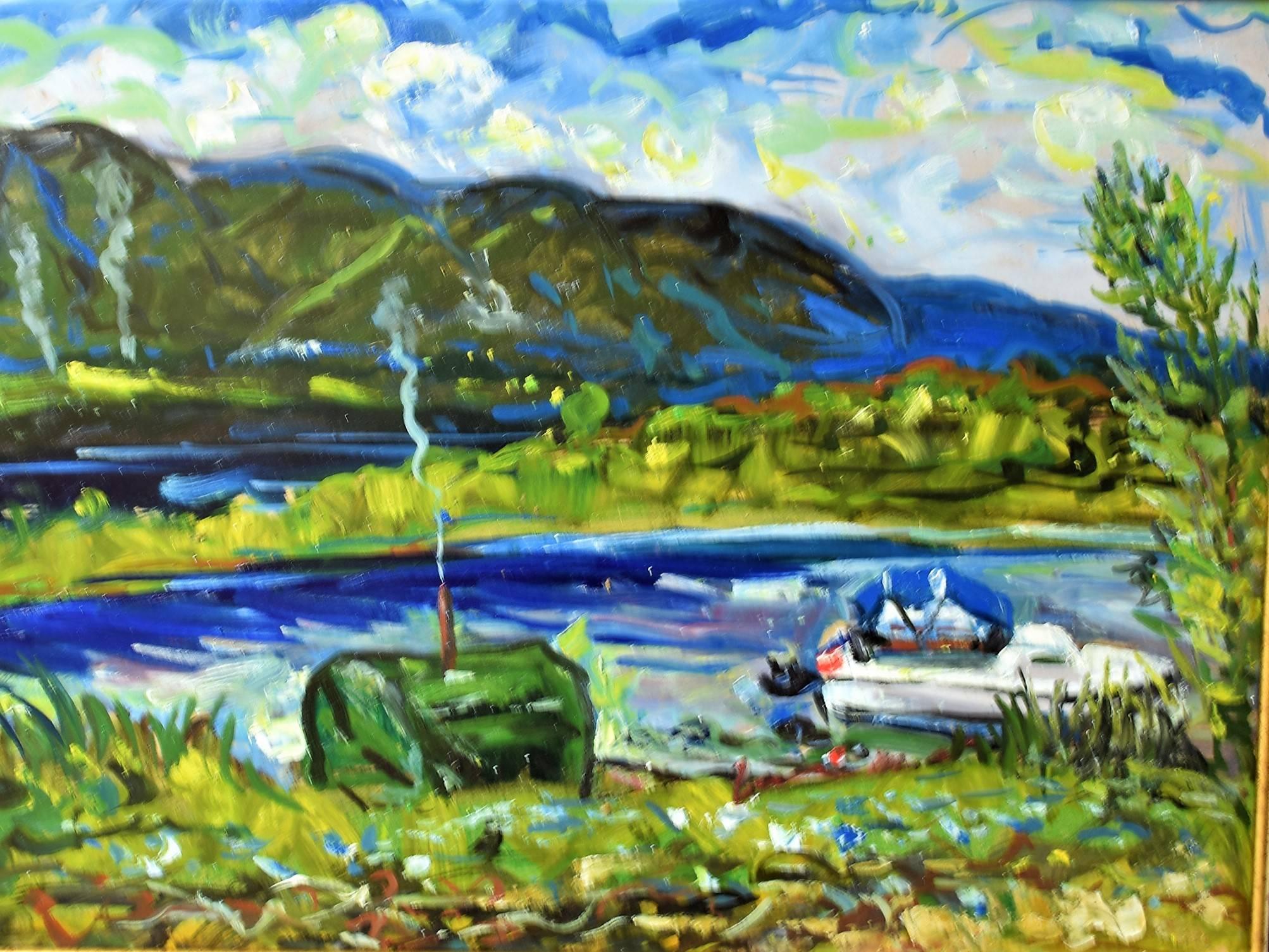 Прекрасный Крым глазами чувашского художника Сергея Блохина