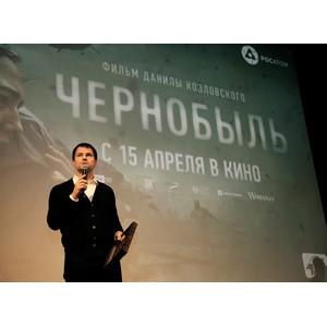 Данила Козловский представил в Курчатове фильм «Чернобыль»