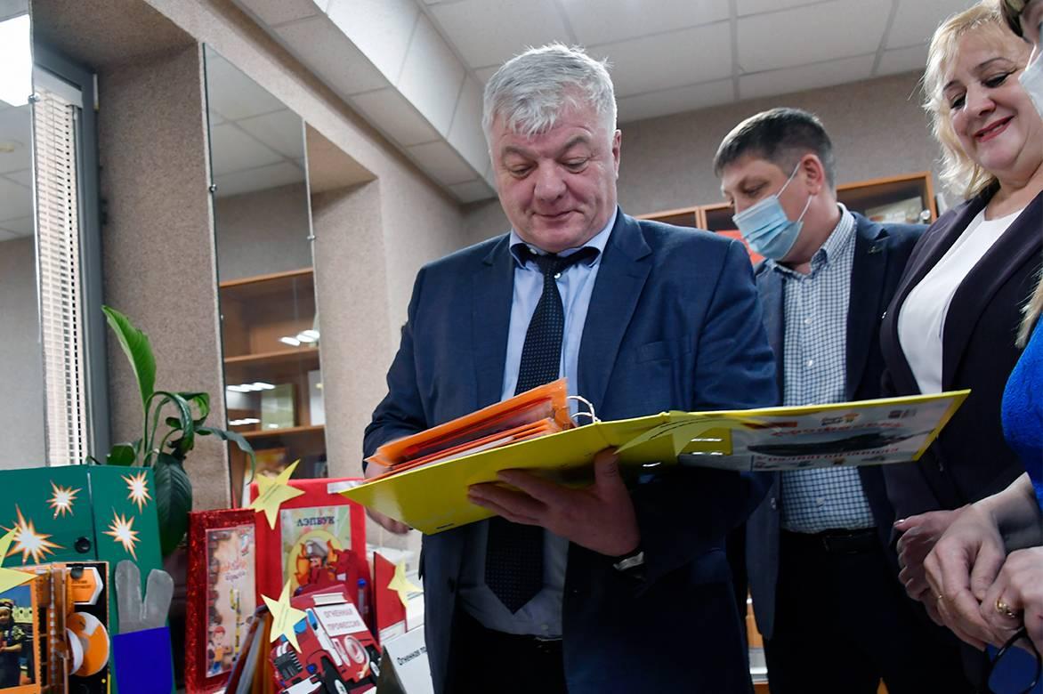 Дошкольники рассказали о профессиях Уралвагонзавода