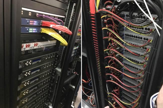 Сетевые технологии Dante в передаче всех аудиосигналов театра Линбури