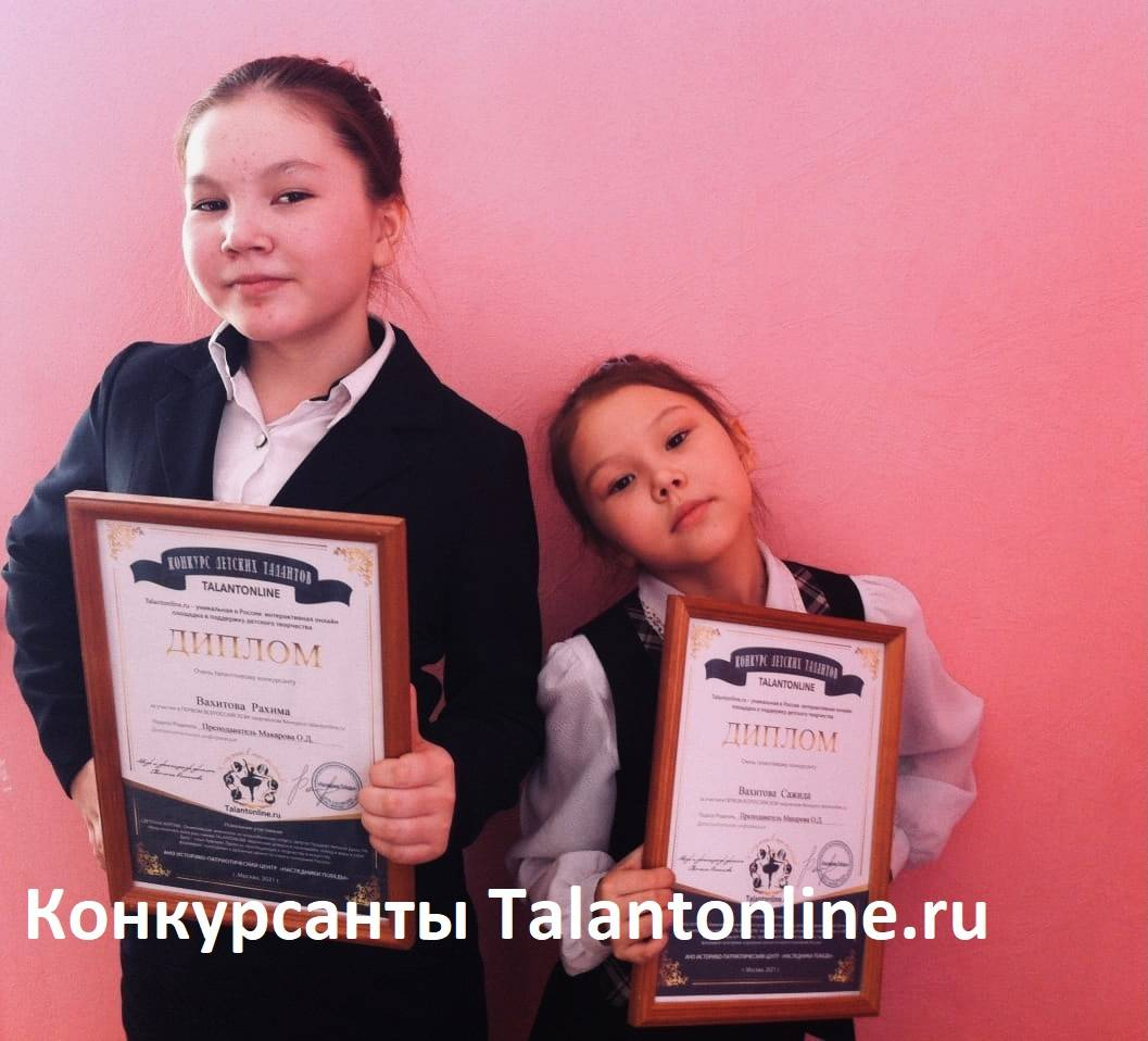 Конкурсанты Talantonline.ru