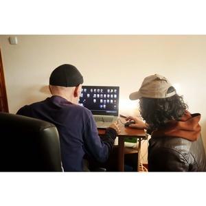 Активисты ОНФ в КБР помогли пенсионеру настроить домашний интернет