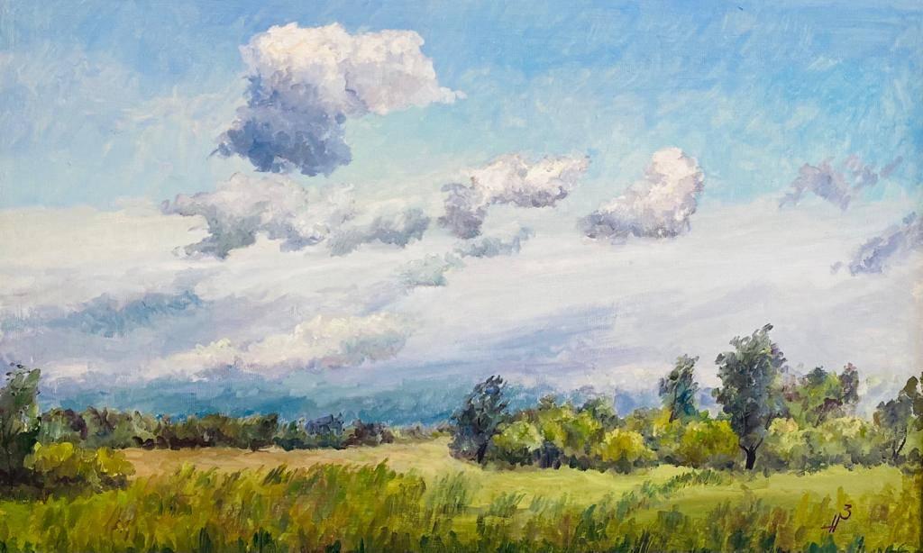 Родной край в картинах чувашского художника Николая Николаева