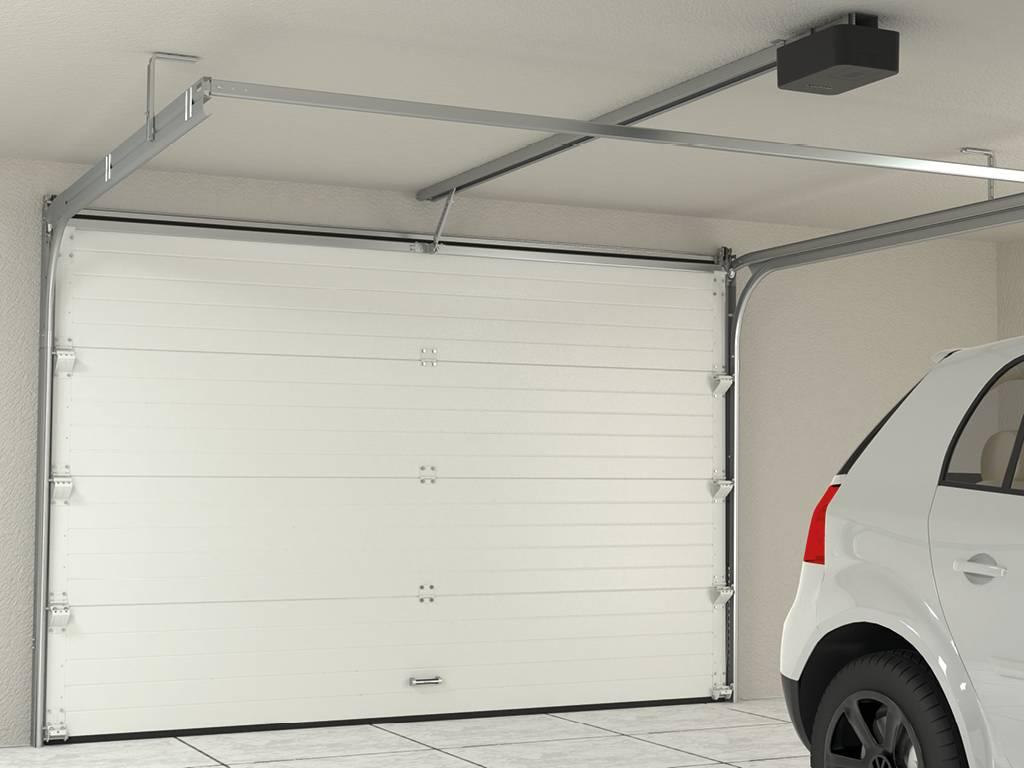 SE-800-1000PRO_ворота изнутри гаража  с приводом