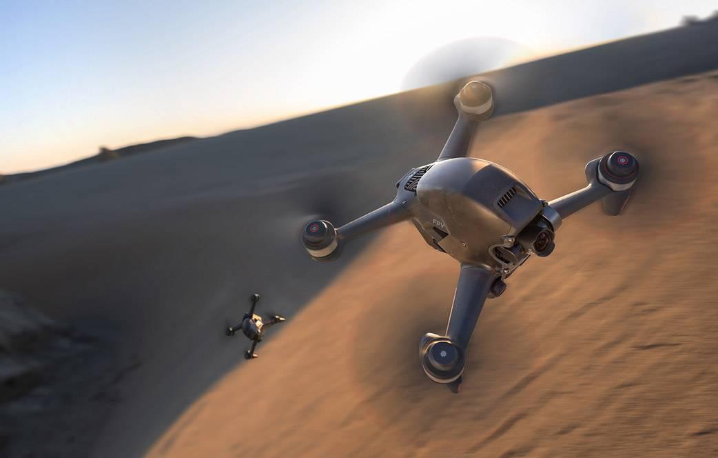 Революция в мире дронов: DJI представил модель DJI FPV Combo