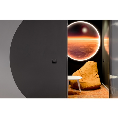 IND architects спроектировала марсианский офис для Alfa Digital