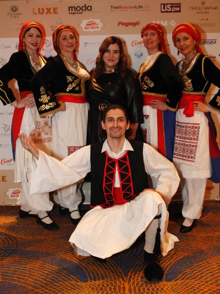 Ансамбль греческого танца  «ФИЛОКСЕНИЯ» и Наиля Шахова