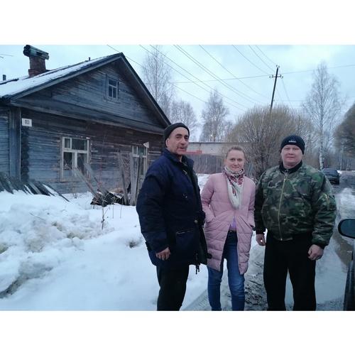 ОНФ помог найти жилье отшельнику, который жил в лесу под Котельничем