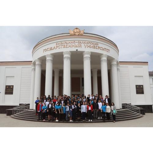 В КБГУ прошел форум-экскурсия «Шире круг»