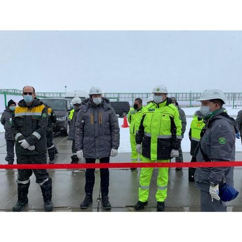 «Зарубежнефть» открыла вахтовый комплекс на Харьягинском месторождении