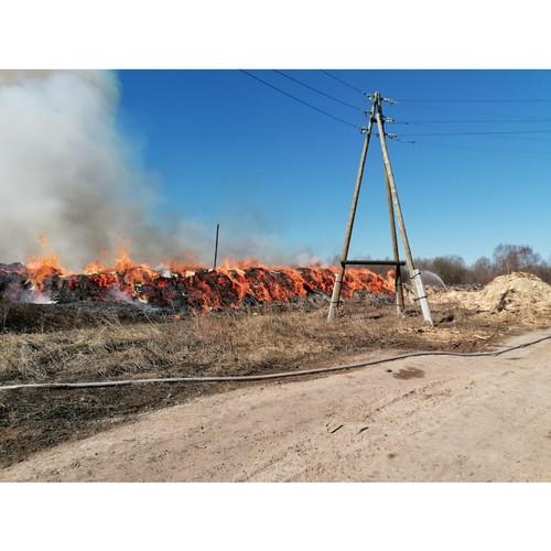 Поджогами свалки в Котельниче займется следственный комитет