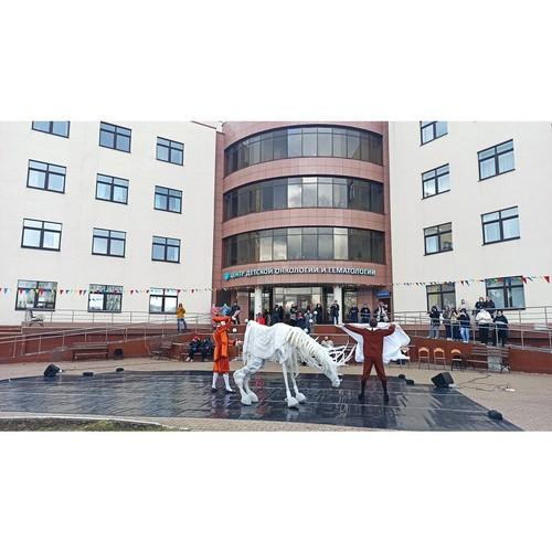 БФ Синара подарил маленьким пациентам онкоцентра «Танец добра»