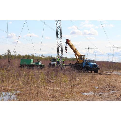 Модернизирована ЛЭП, обеспечивающая выдачу мощности Сургутской ГРЭС-2