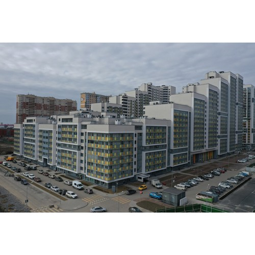 Пятая очередь ЖК «Триумф Парк» поставлена на кадастровый учет