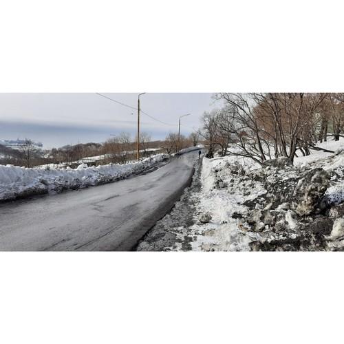Дорога на Молчанова в Петропавловске-Камчатском опасна для пешеходов