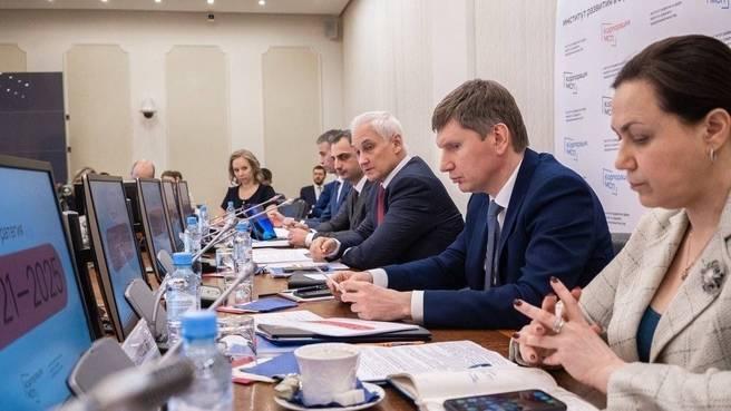 Заседание Совета директоров АО «Корпорация «МСП». Фото: сайт Правительства РФ.