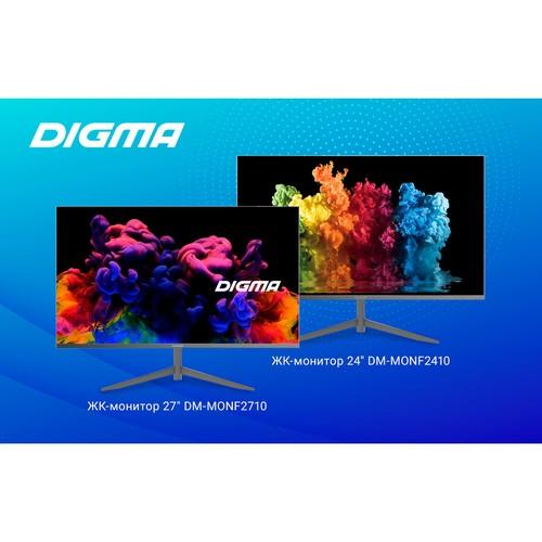 Новые ЖК-мониторы от Digma: доступные, эргономичные, стильные!