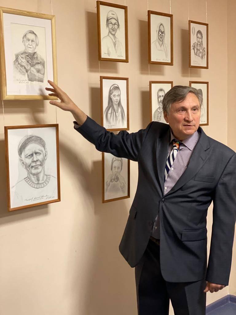 Этнический мир в карандашных портретах  талантливого чебоксарца