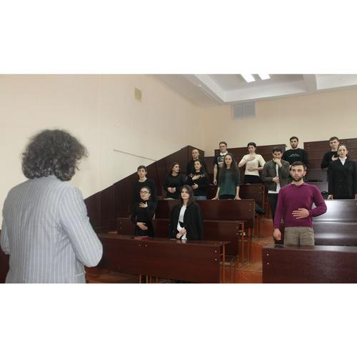 Студенты КБР узнали, как преодолеть страх публичных выступлений