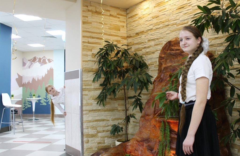 В ресторане ГБОУ Школы № 709 г. Москвы теперь появилась зона селфи