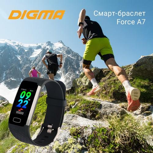 Смарт-браслет Digma Force A7: фитнес-трекер для активной жизни