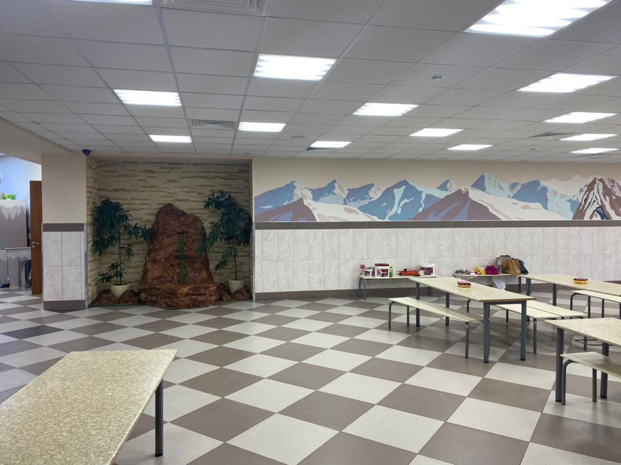 Дизайн интерьера столовой-ресторана ГБОУ Школы №709 г. Москвы
