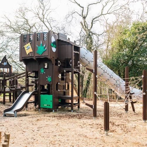 Финские детские площадки Flora от Lappset Group