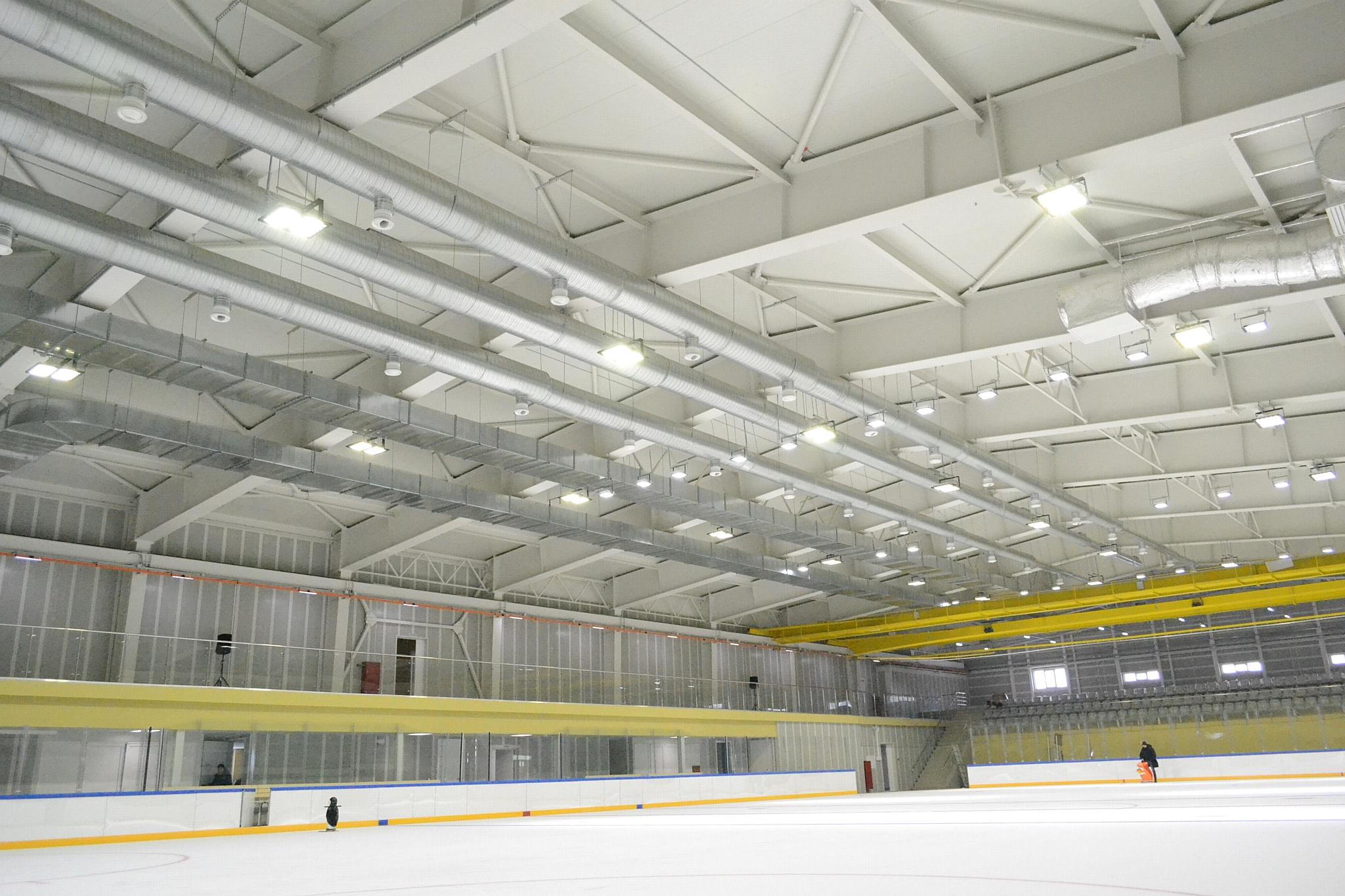 Ледовый комплекс ПБ «Аргос» стал лауреатом премии Sportsfacilities
