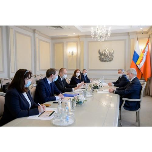 Александр Гусев встретился с руководством компании «Балтика»