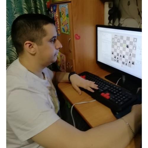 Павел Осипенко из Мариэнерго стал призером шахматного онлайн-турнира