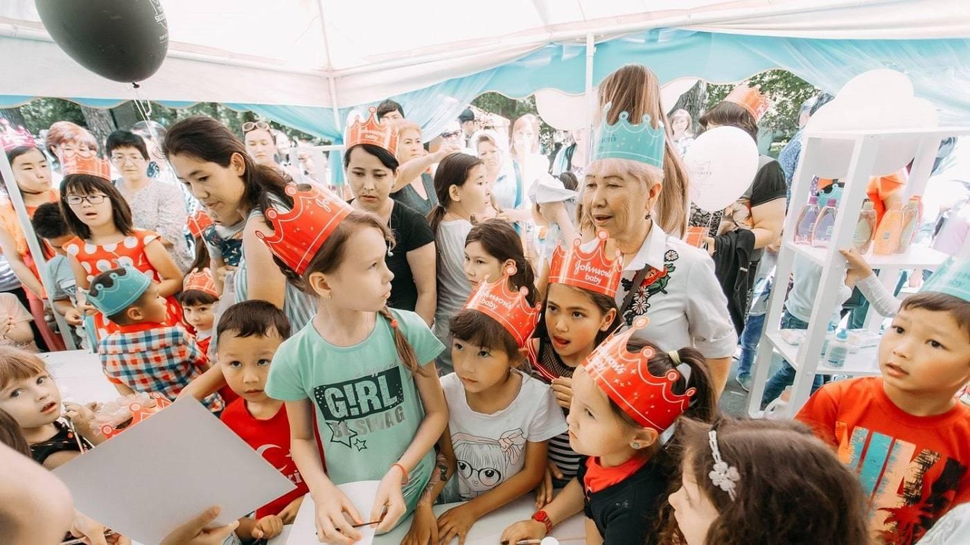 Johnson&Johnson на Дне защиты детей в Казахстане