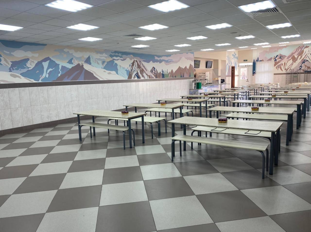 Дизайн ресторана-столовой ГБОУ Школы №709 г. Москвы
