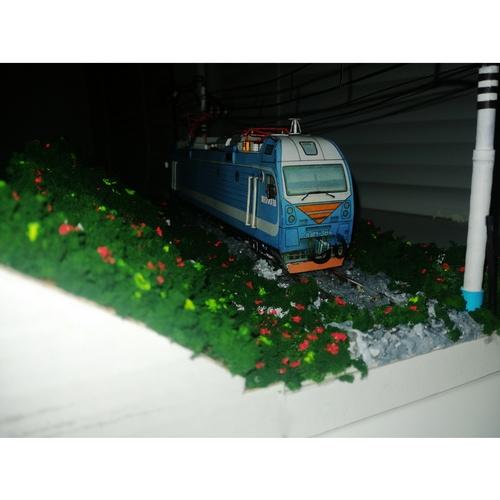 ЭП1М украсил железнодорожный музей в Магдагачи