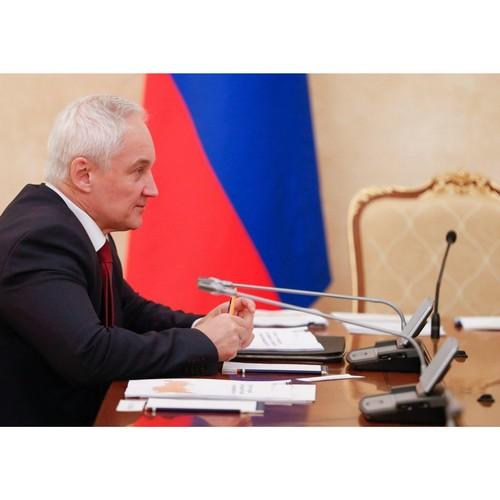 Андрей Белоусов провёл совещание по мониторингу цен