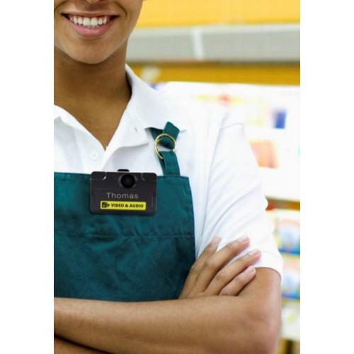 Новая носимая камера-регистратор VT100 для сотрудников магазинов
