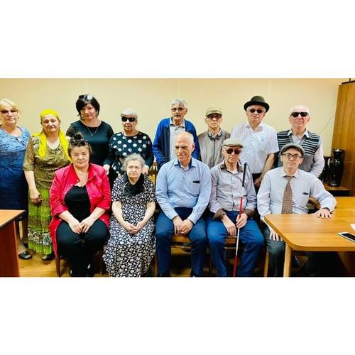 Встреча слепоглухих людей в Дагестане