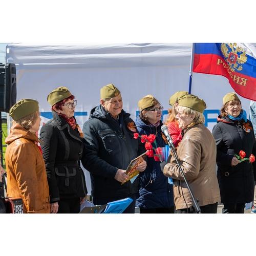 «Главстрой Санкт-Петербург» поздравил жителей города с Днем Победы