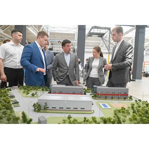 Губернатор Подмосковья оценил вклад «ПромМаш Тест» в развитие региона