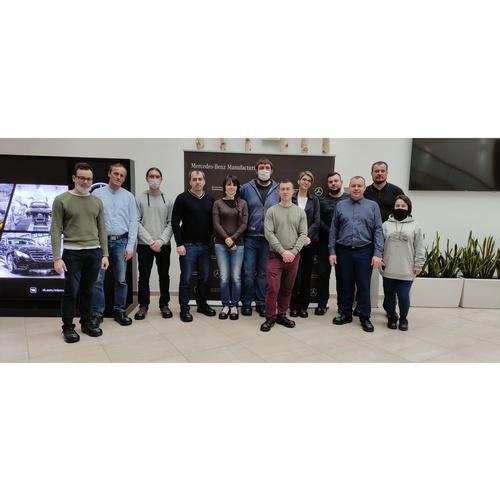 Делегация ОКБ «Гамма» побывала на заводе Mercedes