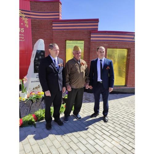 Мариэнерго получил благодарность за благоустройство памятника